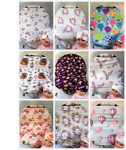 Premium Multi-Use infant CarSeat Canopy Nursing cover baby B