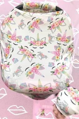 Premium MultiUse Car Seat Canopy Nursing cover Infant baby B