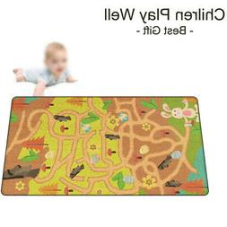 Preschool Toys Room Educational Carpet Cognition Baby Play M