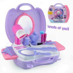 Pretend Makeup Set Cosmetic Beauty Salon Toy Pretend Dress-u