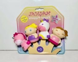 Magic Years Princess and Unicorn Finger Puppets  Playtime &