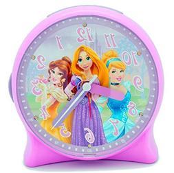 Disney Princess Light-Up Alarm Clock for Girls - Decor