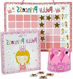 Princess Potty Training Gift Set with Book, Potty Chart, Sta
