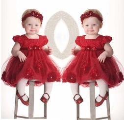 Princess Wedding Party Prom Birthday Dress Skirt Tutu Dresse