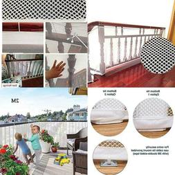 Protector Deck Balcony & Stairway Safety Net for Indoor & Ou