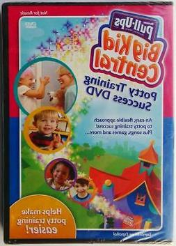 PULL-UPS Potty Training Success DVD 2009 NEW / Sealed