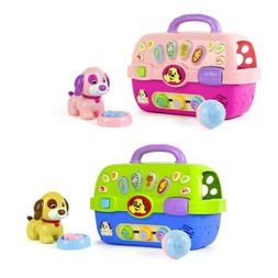 Puppy Pet Carrier Toys Learning Development for Children Tod