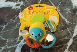 Infantino RattlePal Soft Baby Toy Rattle Teether Ring For Ca