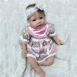 "Realistic 22"" Reborn Baby Dolls Newborn baby Girl Lifelike S"