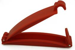 Red Safety Gear Car Seat Belt Clip Locking Fixed Skid For Ba