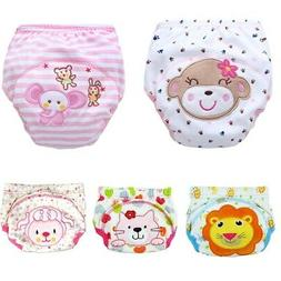 Reusable Nappy Training Pants 3 layers Baby Waterproof Potty