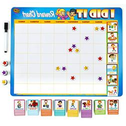 Kids Reward Chore Chart Behavioral Tasks Thick Magnetic Boar