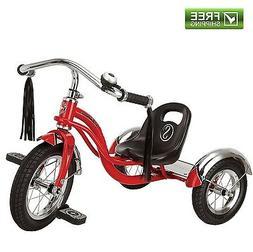 "Schwinn Roadster Trike Red Toddler 12"" Sturdy Retro Style Tr"