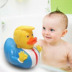 Rubber PVC Children Bathing Rhubarb Duck Doll Spoof Duck Fun