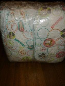 Huggies S3 M.Mouse 24 Diapers+Babyganics S1 40ct Baby combo