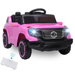 Safety Kids Ride on Car Toys 6V Battery Power Wheels Music L