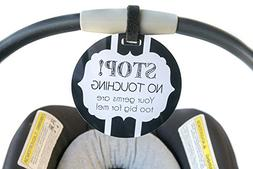 Baby Safety sign, newborn, baby car seat tag, baby shower gi