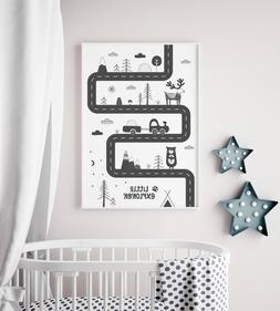 Scandi Style Nursery Print / Picture For Boys Room / Bedroom