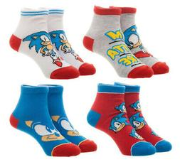 Sega Sonic The Hedgehog Youth Ankle Socks Child Video Game 4