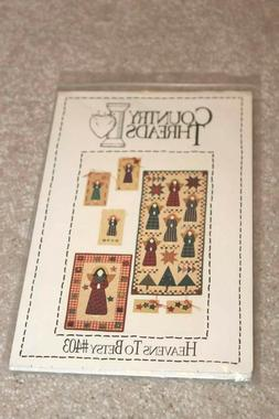 Country Threads Sewing Pattern UNCUT Mini wall hanging quilt