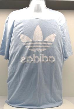 Adidas Shirt ORIG TREFOIL T SIZE XL BABY BLUE-FREE SHIPPING