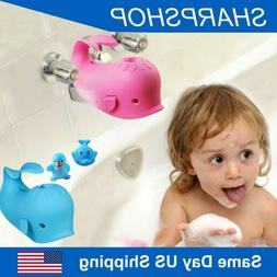 Silicone Baby Bathtub Spout Cover Safety Bathing Toy Faucet