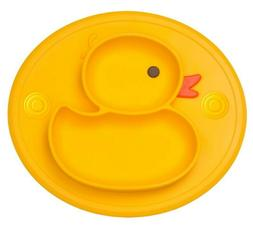 Silicone Divided Toddler Baby Plates for Kids BPA Free Non-S