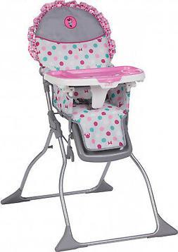 Disney Baby Simple Fold Plus High Chair Minnie Dot Fun Playp