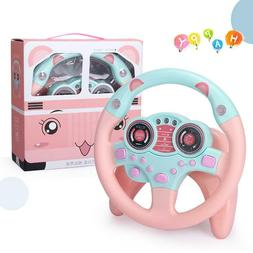 50% off Today- Simulation Car Driving Steering Wheel Kids Li