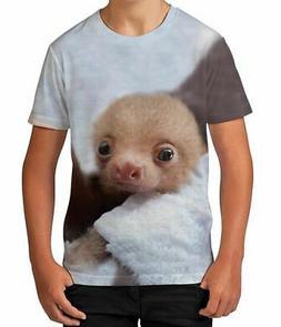 Sloth Baby Animal Wild Novelty Cute Parent Son Boys Kids Chi