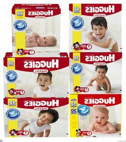 Huggies Snug & Dry Baby Diapers ALL SIZES NEWBORN - SIZE 6 C