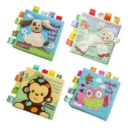 Soft 3D Baby Cloth Book Cartoon Bath Pattern Infant Early De