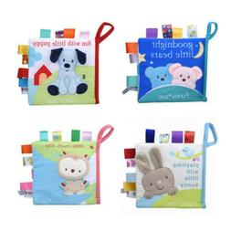 Soft Intelligent Development Cloth Bed Book Educational Toy