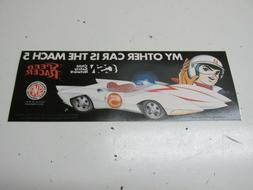 "SPEED RACER ""My other Car is the Mach 5"" SEMA Child Safety N"