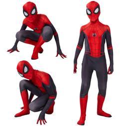 Spider-Man Far From Home Kids Boys Spiderman Zentai Child Co