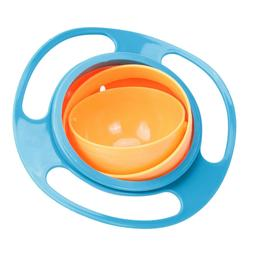 Spill-Proof Bowl Dishes Toy Children Kid Baby Feeding Toddle