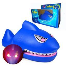 Spoof Toys Children Large Shark Funny Family Kids Mouth Dent
