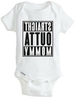 Straight Outta Mommy Gerber Onesie Baby / Infant Funny Compt