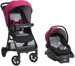 Stroller Baby Travel System And Car Seat Girls Combo set