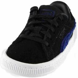 Puma Suede Classic Terry Infant  Casual   Sneakers Black - B