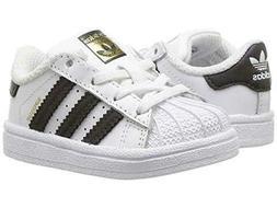 Adidas Superstar I BB9076 White Black Infant Toddler Baby Gi