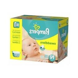 Swaddlers Diapers Size Newborn Giant Pack 128 Count, Baby, N