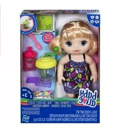 Baby Alive Sweet Spoonfuls Baby Doll Girl- Blonde Straight H