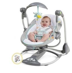Baby Swing 2 Seat Infant Toddler Rocker Chair Little Portabl