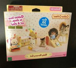 Sylvanian Calico Critters Baby Nursery Set Over 20 pieces Ep