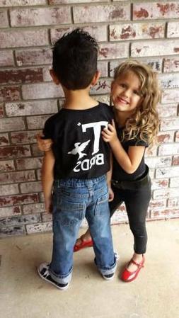 T Birds GREASER boy child graphic tee Shirt Tshirt black lig