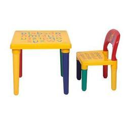 Table Infant Kids Set Chair Desk Children Activity Play Stud