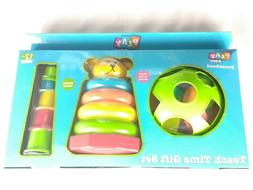 Play Zone Teach Time Gift Set Baby Toy Shape Sorting Activit