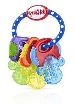 Teether KeysIce Gel  Baby Teething Soothing CoolingToddl