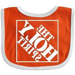 Inktastic The Holy Spirit Christian Baby Bib Home Depot Logo